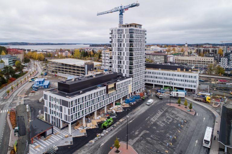 Kuopion Portti valvonta Infidem